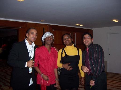 Aaron, Maryse and Adel
