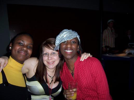 Charlotte, Maryse and Adel