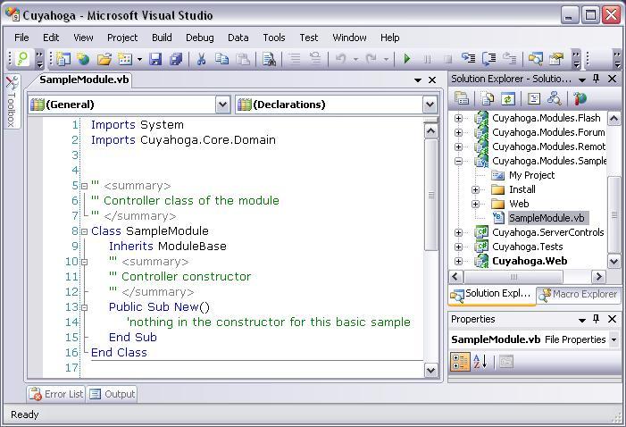 Sample Module